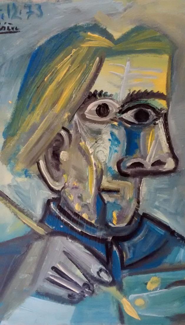 Autoportrait / Coll. privée