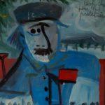 Avignon et les prolétaires, 29x31 / en vente