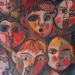 Chanteurs, 51x38 / en  vente