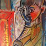 Enfant au piano, 37x52 / vendu
