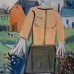 Femme en Avesnois, 41x57 / en vente