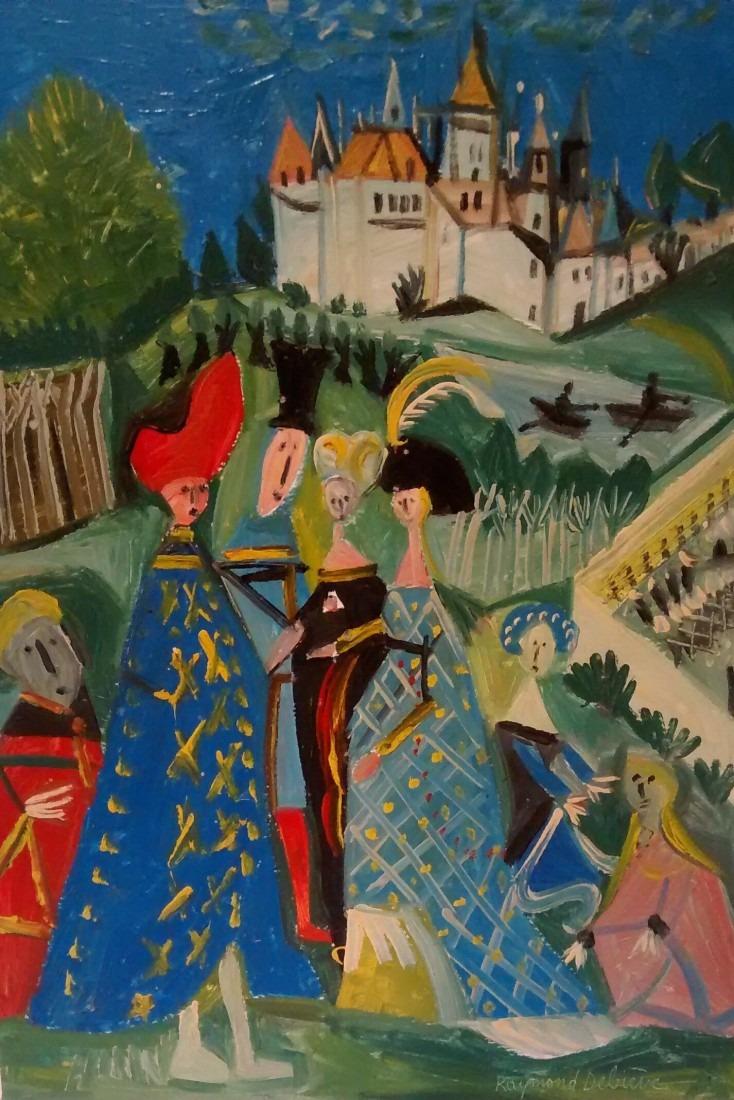 Nobles dames, 45x57 / vendu
