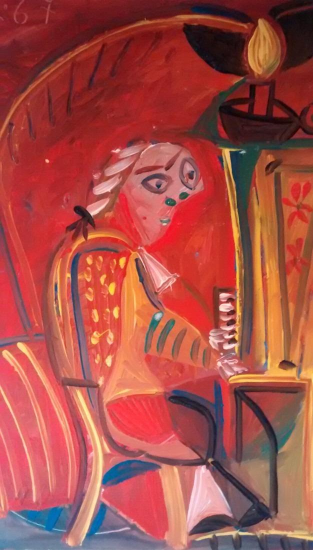Pianiste, 37x52 / vendu