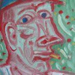 Homme à la cigarette / En vente