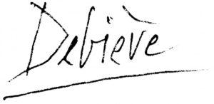 Signature Raymond Debiève