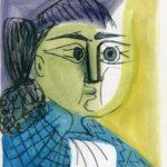 femme au châle II