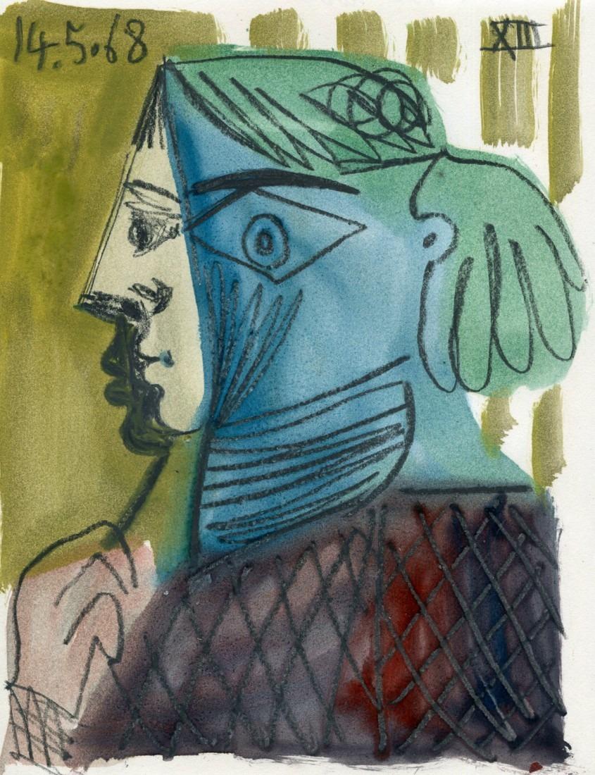 femme au châle XIII