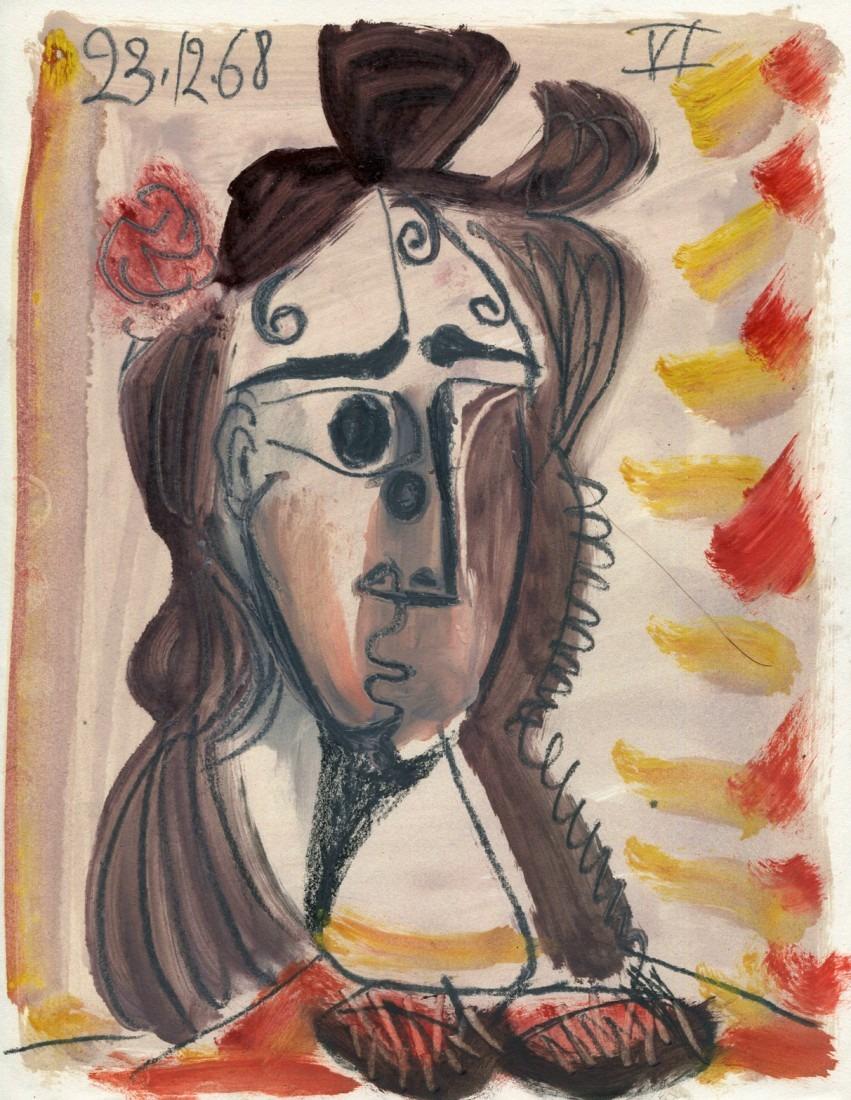 femme brune VI