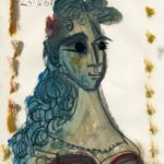 femme brune VIII