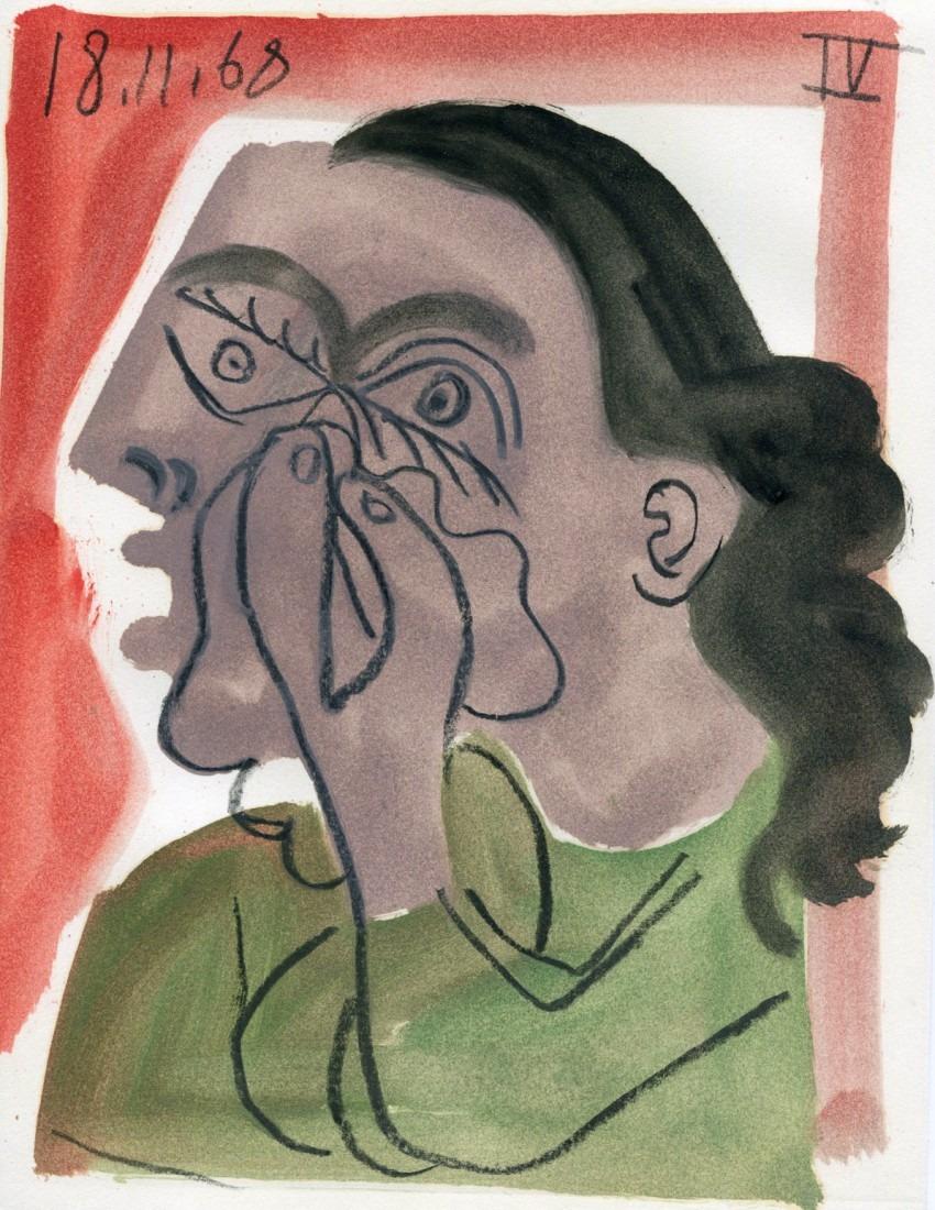 femme qui pleure IV