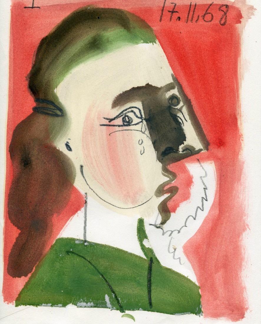 femme qui pleure I