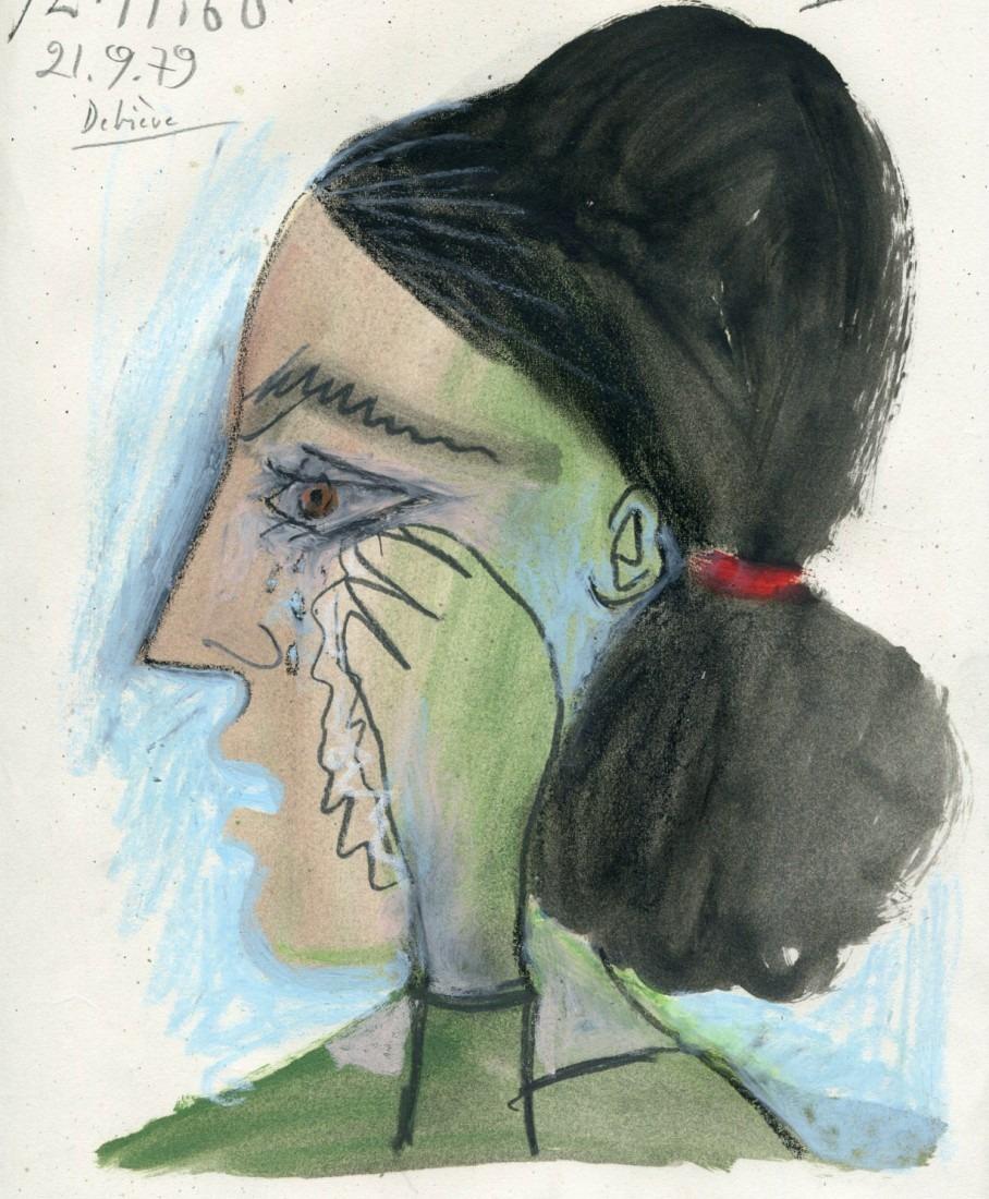 femme qui pleure II