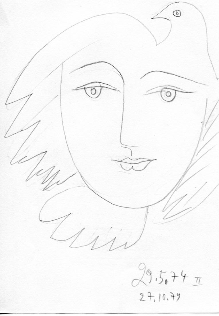 femme colombe II
