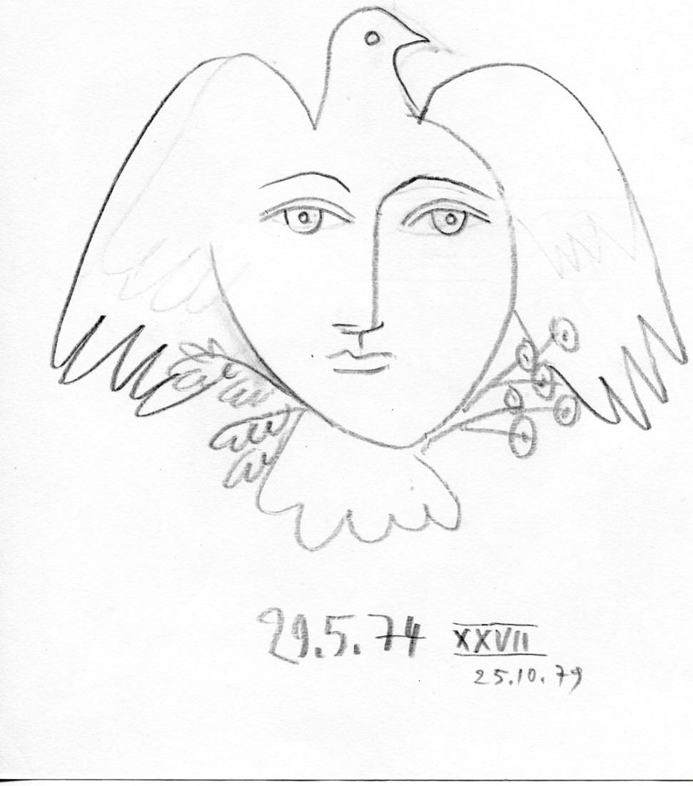 femme colombe XXVII
