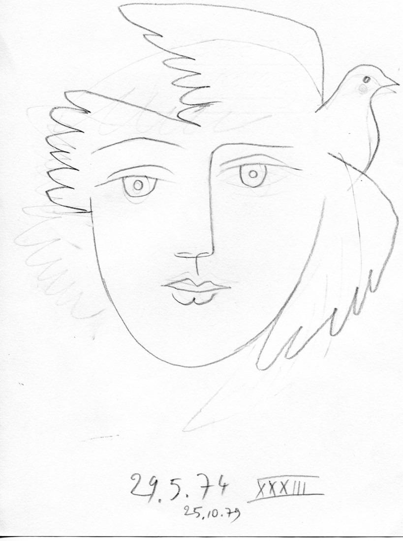 femme colombe XXXIII