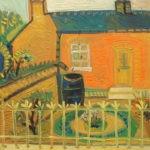 Maison natale, 38x43 cm, huile sur carton