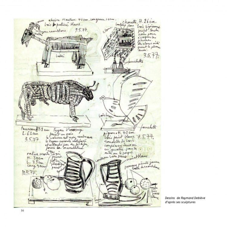 Extrait 1 - Catalogue exposition Raymond Debieve à Maubeuge