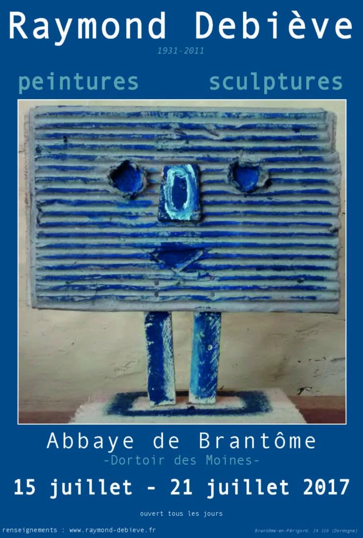 Exposition à l'Abbaye de Brantôme (24) du 15 au 21 juillet 2017