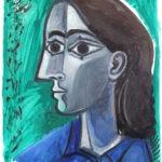 Jeune homme, encre sur papier, 50x65cm