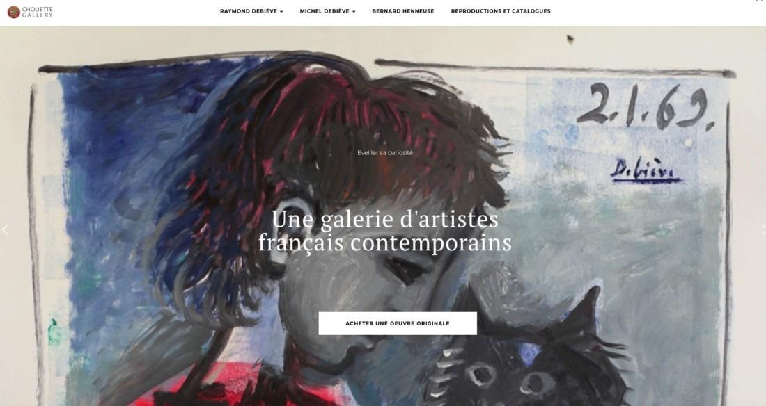Site CHOUETTE Galerie