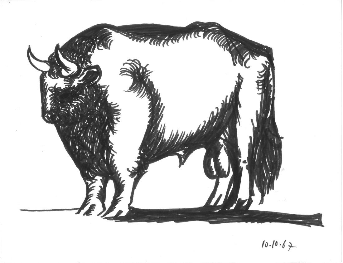Taureau - I, Raymond Debiève