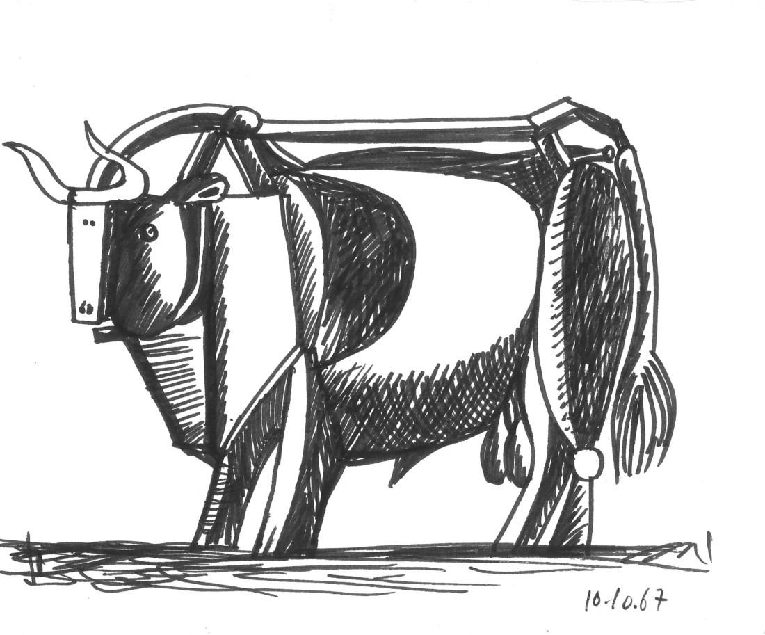 Taureau - III, Raymond Debiève