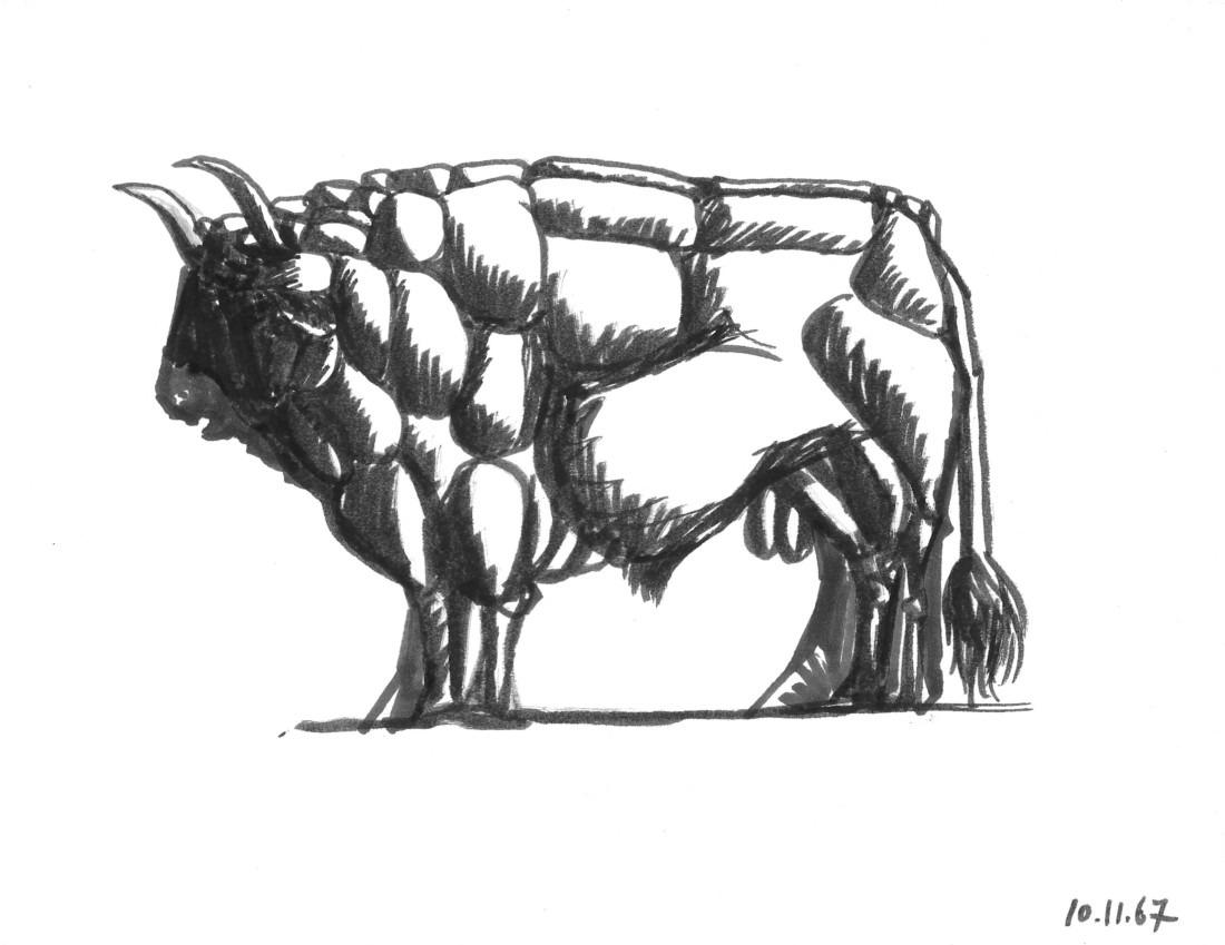 Taureau - VIII, Raymond Debiève